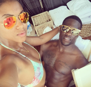 Kevin Hart Shares Vacation Photos