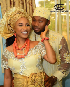 Photos From Tonto Dikeh And Oladunni Olakunle Churchill Traditional Wedding