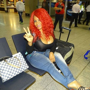 Cossy Arrives Germany,Explains Why She Flaunted Her Visa