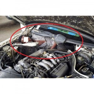 African Migrant Found Hiding In Car's Engine In Attempt To Enter Spain