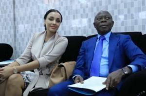 Edo State Gov. Gov. Adams & First Lady Lara Oshiomhole  Are Always Together – See Photos
