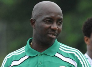 2015 AAG: Siasia Not Satisfied With Team's 1-1 Draw With Senegal