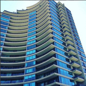 Peter Okoye Shares Photo Of A High Rise Building With Caption ' Atlanta Home'