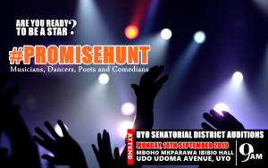 Hundreds Of Youths Set To Gather For #Promisehunt Auditions In Uyo