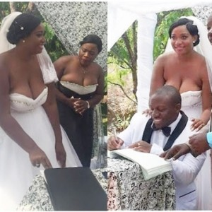 Photos of a Brides' Wedding Gown Gone Viral, Yay or Nay?