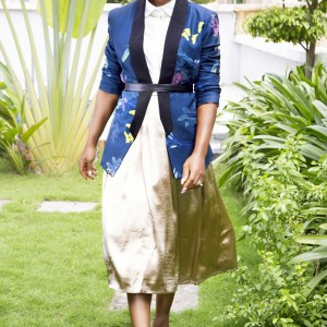 Photos : Dakore Akande's Exclusive Photos For VR By Mobos Fashion Brand