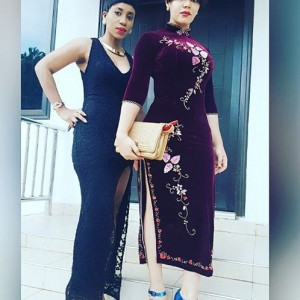 Photos : Nadia Buhari Dazzles In Chinese Inspired Outfit