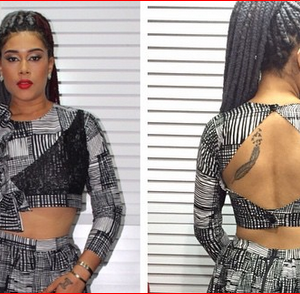 Nollywood actress, Adunni Ade Explains The Meaning Of Her Tattoos