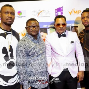 Photos: Melvin Oduah, Lancelot Oduwa, Moses Efret, Uddy Udoh, Jibola Dabo & More At John Bosco In America Movie Premiere|Texas-USA.