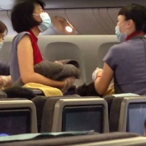 Chinese Airline To Prosecute Woman Who Delivered A Baby Aboard Flight, Seeks £21,00  Compensation