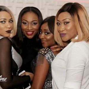Photos : Rukky Sanda, Ebube Nwagbo, Annie Idibia, Turn Up For Ini Edo's Lounge Opening