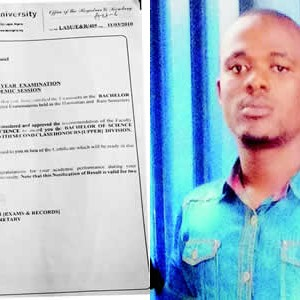 Police Arrest Banker For Forging WASCE And University Results