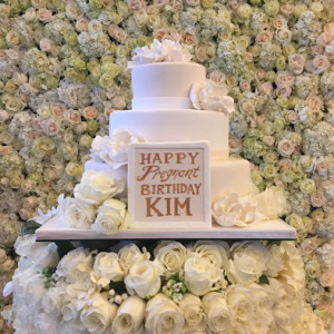 Kanye Gives Kim An Amazing Birthday Package