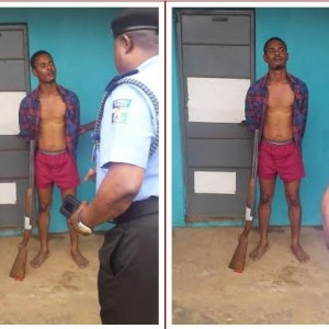 Man Alleged To Be High On Hard Drugs Takes Rifle To Popular Market In Akure