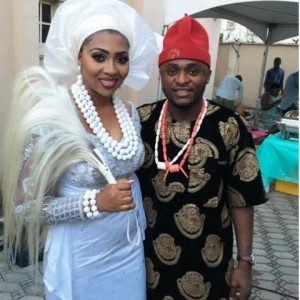 First Photos From Lillian Esoro & Ubi Franklin's Traditional Marriage