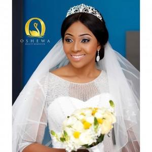 More Photos From Ubi Franklin & Lilian Esoro's White Wedding