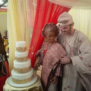 Photos : Tosyn Bucknor  And Aurélien Boyer's Traditional Wedding