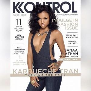 I Dont Think I Am Mentally Ready To Date – Karrueche As She Covers Kontrol Magazine