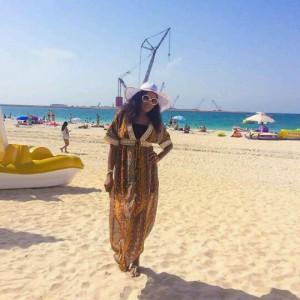 Photos : Chika Ike Shares Vacation Photos