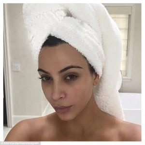 I Sleep In My Makeup -Kim Kardashian