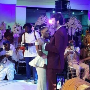 Photos : Tosyn Bucknor's White Wedding