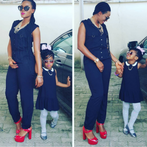 Photos : Basketmouth's Wife & Daughter Step Out In Style