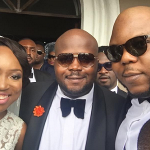 Photos From Dr Sid's Brother Andrew Esiri's White Wedding
