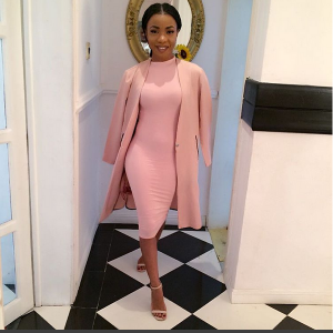 Photo : Mocheddah Wows In Blush Pink Gown