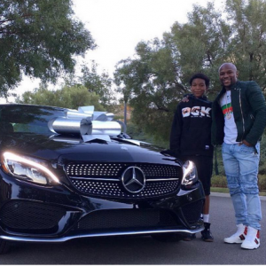 Checkout The Mercedes Floyd Mayweather Got For Son's 16th Birthday