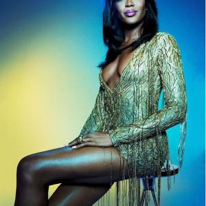 Photos : Naomi Campbell Dazzles For GQ