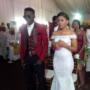 First Photos From  Akpororo's White Wedding