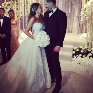 Photos : Sofia Vergara And Joe Manganiello's Wedding