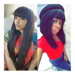 Nollywood Actress Mercy Aigbe And Follower Fight Dirty on Instagram Over Photo With Daughter