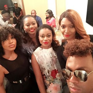 Photos : Rita Dominic's Star-Studded Christmas Party