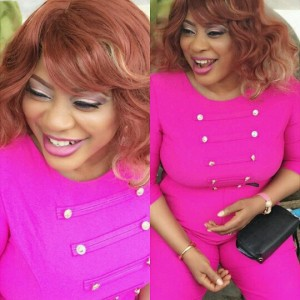 Photos : Actress Ayo Adesanya Looks Lovely In Pink