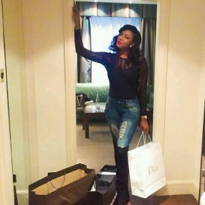 Chika Ike Shares Beautiful Photos From Her Vacation Trip