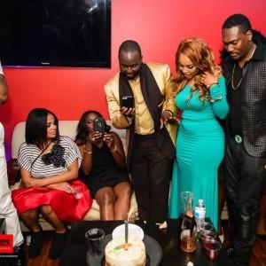 Actress, Sana Kanu Idibia Celebrates Birthday In The US.