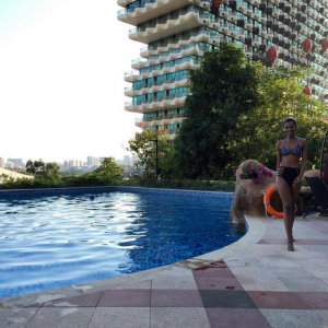Photos : Agbani Darego Shows Off Bikini Body