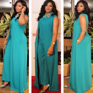 Photos : Omotola At Fifty Movie Premiere