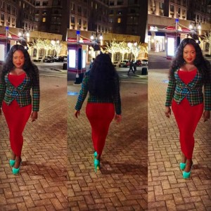Nollywood Actress, Winstina Taylor Shows Off Her Curvy Assets In New Pic.