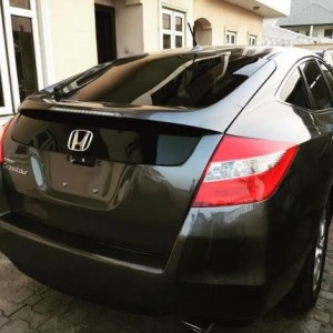 Photo: Seyi Law Gifts A Brand New Car To His Wife, Ebere Stacy