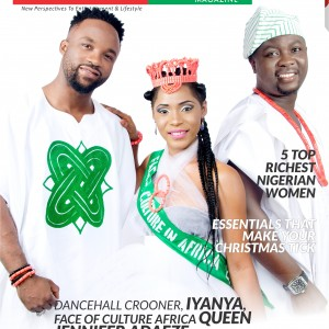 Iyanya, Seyi Law and Queen Jennifer Adaeze Covers The Latest Issue Of Rhodies World Magazine