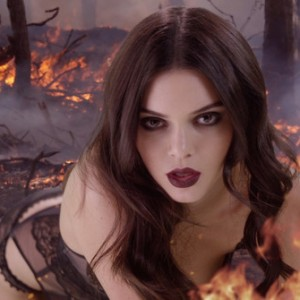 Photos : Kendall Jenner Is Dark And Fiery For Love Advent Calendar