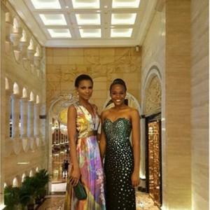 Photos : Agbani Darego And Unoaku Anyadike Stun At The 2015 Miss World Charity Gala