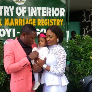 Photos: Tchidi Chikere And Nuella Njubigbo's Court Wedding