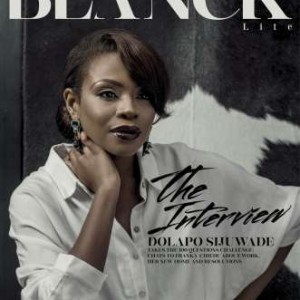Princess Dolapo Sijuwade Covers The 1st Issue Of Blanck Lite