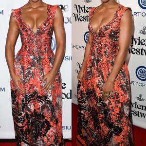 Photos : Kelly Rowland Steps Out In Beautiful Gown ForVivienne Westwood's Art Of Elysium Gala