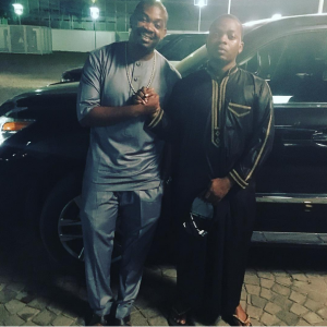 Photo : Olamide And Don Jazzy Bury The Hatchet And Make Up