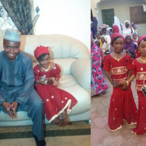 Photos : 10 Year Old Girl Marries 28 Year Old Man In Kano
