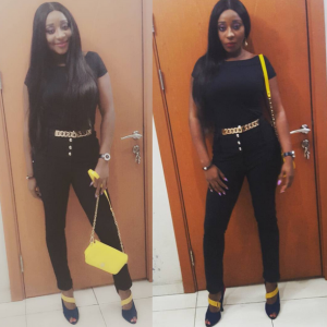 Ini Edo Shares Stunning Photo :  Fans Slam Her Over Weight Loss